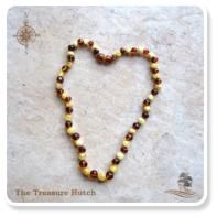Baltic Amber - Cognac/White.  Available in 45cm