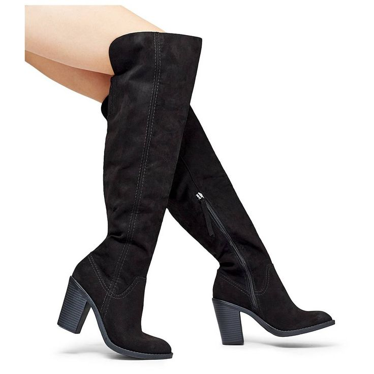 Women's dv Marilyn Over the Knee Fashion Boots. Image 4 of 5.