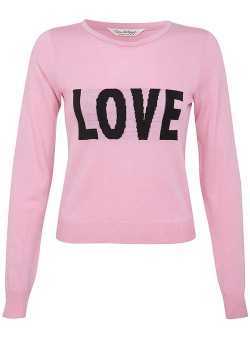 Miss Selfridge LOVE Jumper
