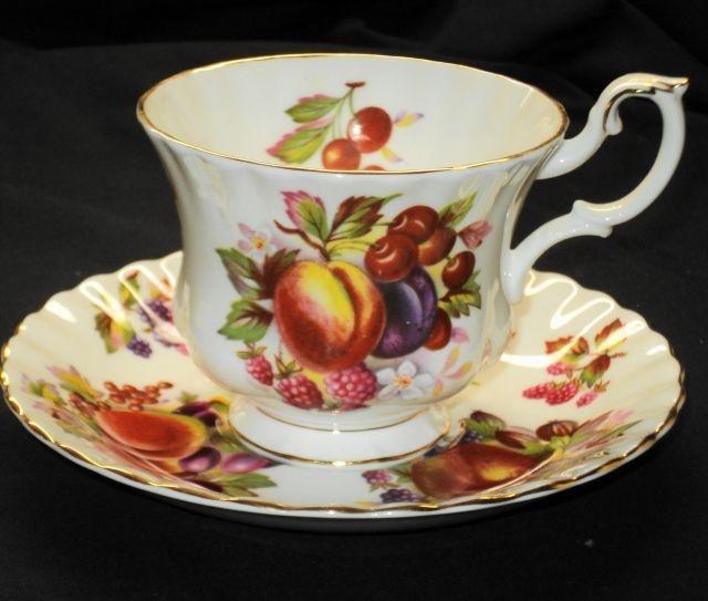 81 best fruit royal albert patterns images on pinterest. Black Bedroom Furniture Sets. Home Design Ideas