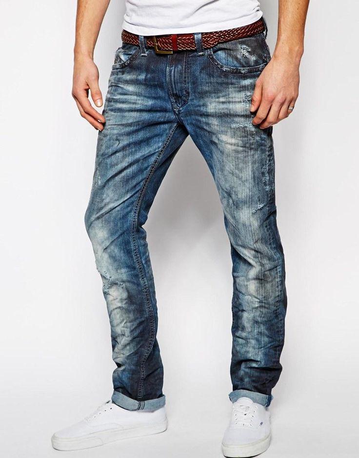 Diesel | Diesel Jeans Thavar 829b Slim Fit at ASOS