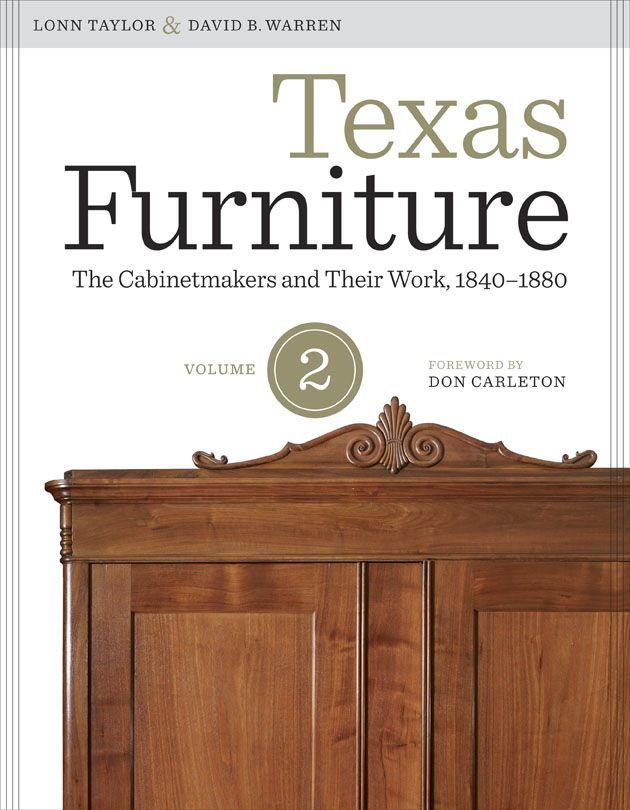 Book Jacket To Texas Furniture, Volume 2