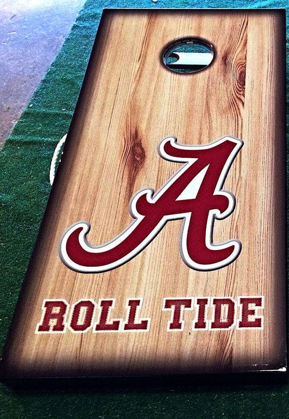 Officially Licensed University Of Alabama Cornhole Board