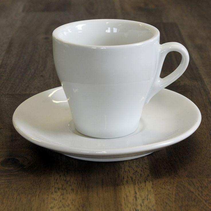IPA Genova espressokuppi ja cappuccinokuppi