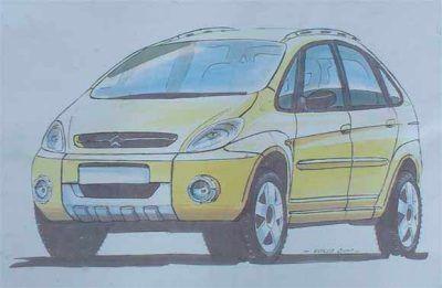 """Sbarro Citroën Xsara Picasso """"El Bicho"""""""
