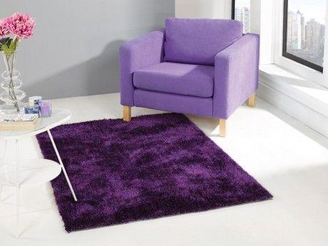 flair rugs grande vista purple mix shaggy rugs