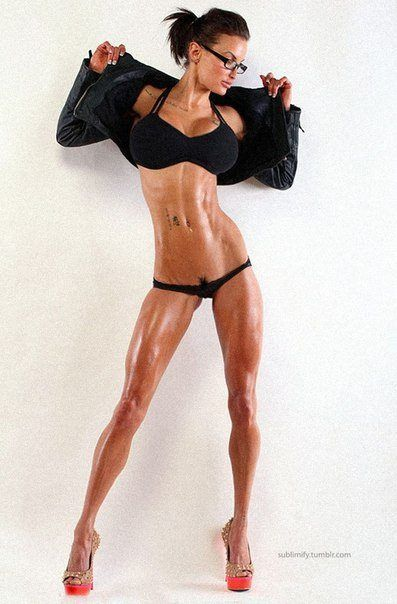 fitness model nude sex