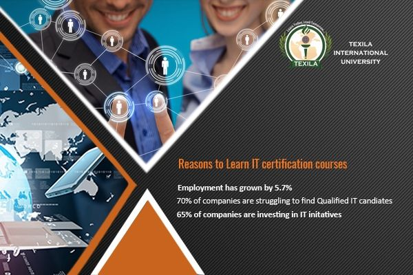 Why Should You Pursue IT certification courses? http://bit.ly/1R4QsMg