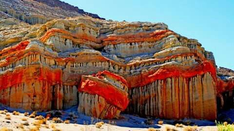 Fortress-of-the-Red-Rocks-State-Park-in-Kern-County-California-United-States
