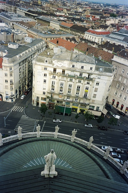 view from the Bazilika (Budapest)