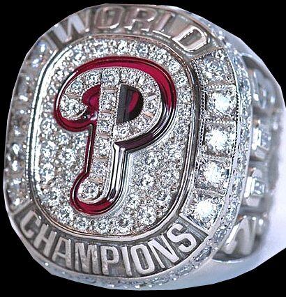 2008 Philadelphia Phillies World Series Championship Ring