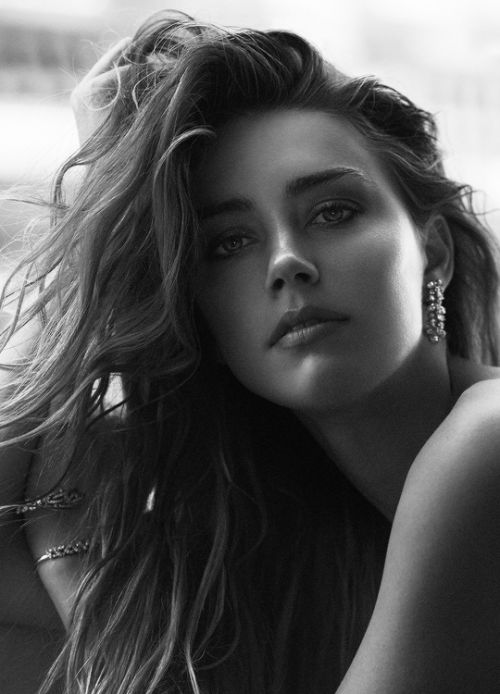 """""""Amber Heard photographed by Boe Marion. """""""