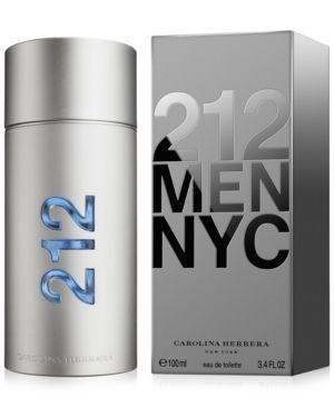 Carolina Herrera 212 for Men Eau de Toilette Spray, 3.4 oz #carolinaherrera212 #carolinaherrera #carolinaherreraecuador #ecuador #perfumes #perfume