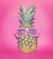 pink pineapple background - Google Search