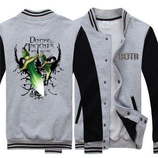 A camisola da borboleta para fleece juventude Dota 2 mais uniforme de beisebol design tamanho