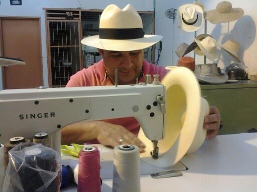 Los terminados se hacen con maquina de coser