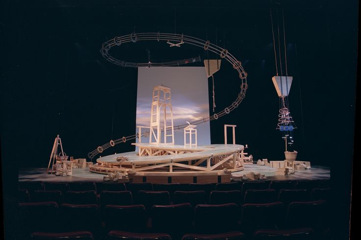 Vinci national arts centre theatre scenic design by john for John jenkins design