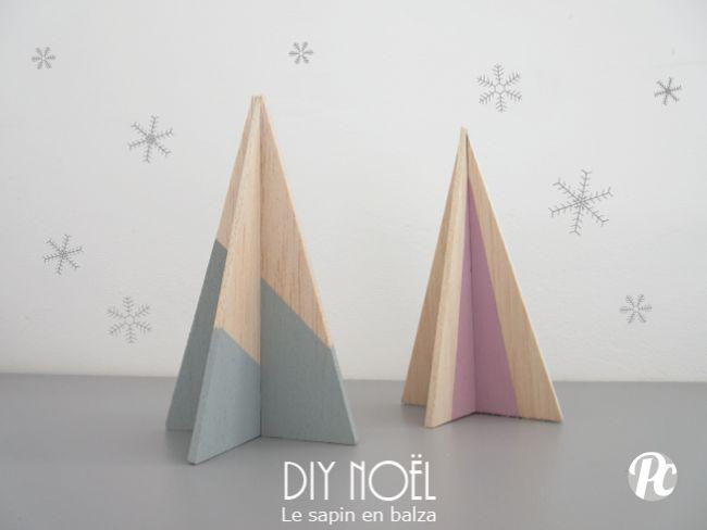 DIY de Noël : un petit sapin en bois