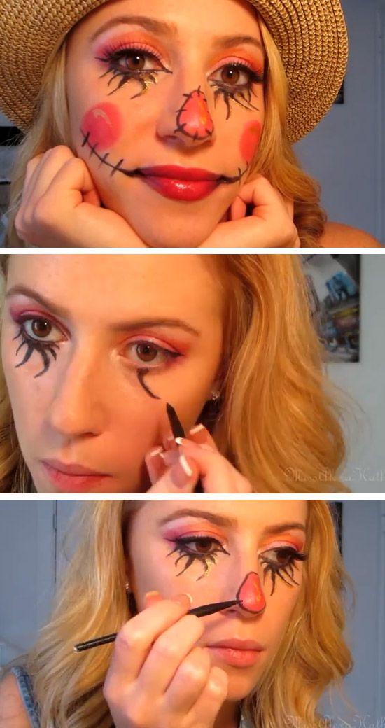 Maquiagem espantalho