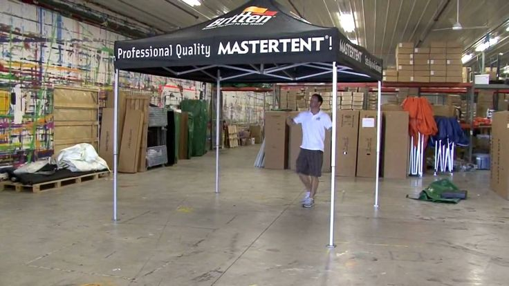 MasterTent USA   -  One Person Set-Up