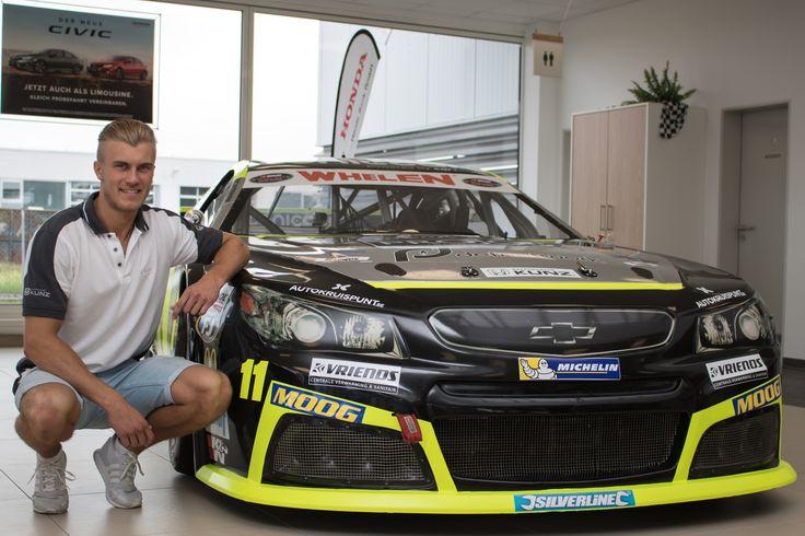 Justin Kunz - Vorfreude auf NASCAR-Event in Deutschland - EuroNASCAR auf dem Hockenheimring