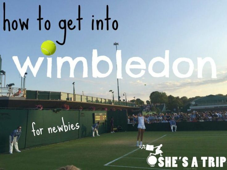 Wondering how to get into Wimbledon & have no idea where to start? I'll explain the Wimbledon ticket process & the Most Organized Queue in the world.