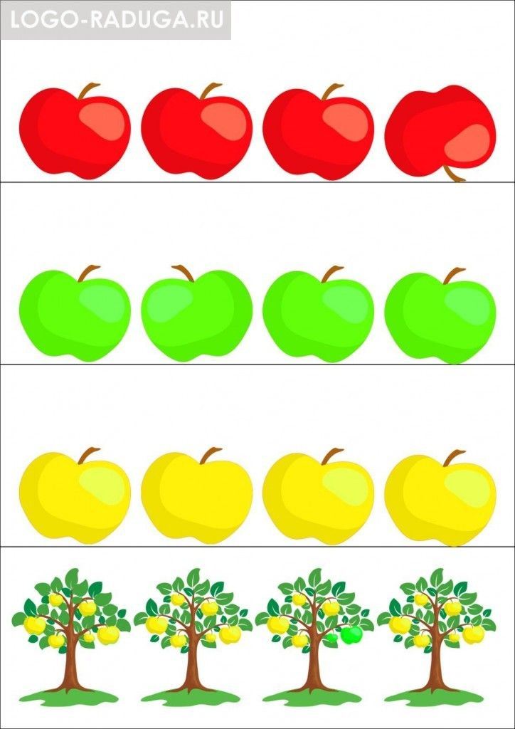 Yablochki Detskij Logoped V Dmitrove Ot 500 Rub Chas Olga Tihomirova Color Activities Food Themes Flashcards For Toddlers