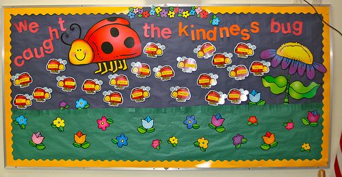 Bug Bulletin Board Ideas | also was reminded of my ladybug bulletin board that i didn't ever ...