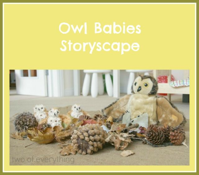 Owl Babies Storyscape