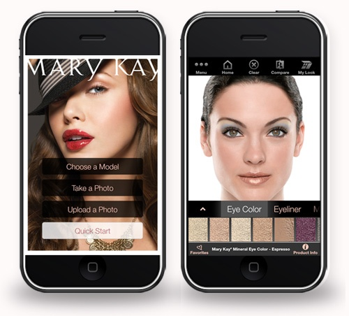 Want to test new looks? Download the new Virtual Makeover app for your tablet or mobile device.