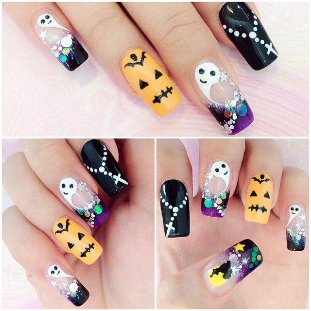 halloween by 20nailstudio #nail #nails #nailart ...