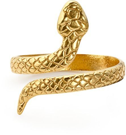 Alex and Ani Snake Ring Wrap