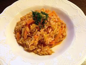 Karotten-Lauch-Reis, türkisch (Rezept mit Bild) von minnimooh | Chefkoch.de