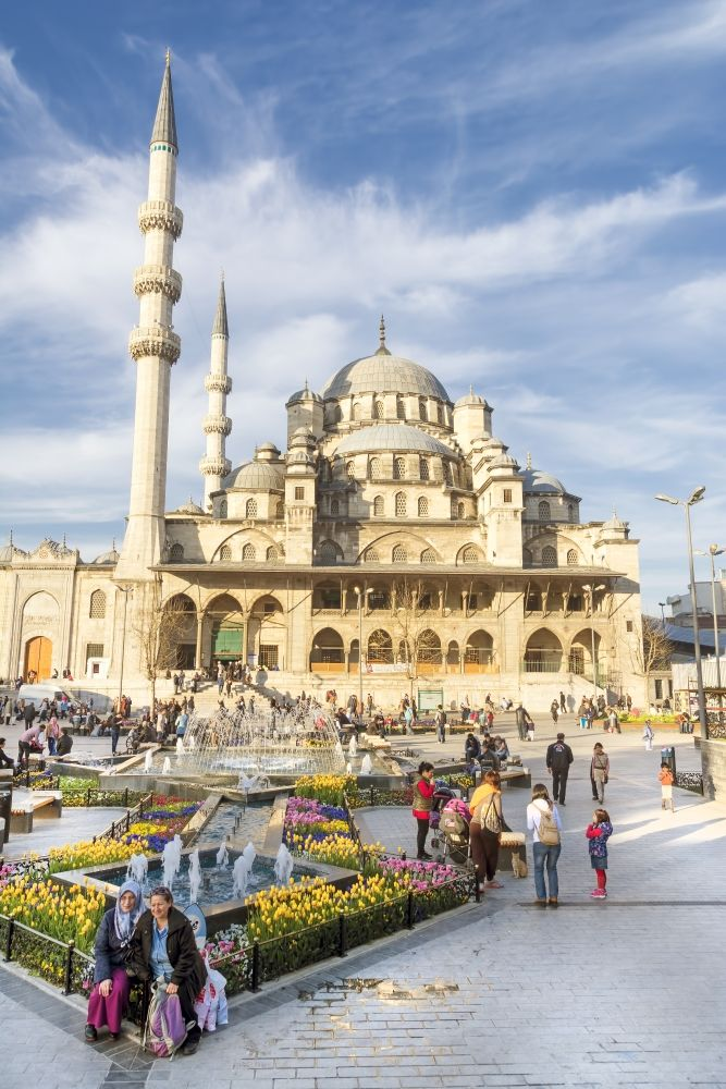 New Mosque, Eminonu, Istanbul, Turkey - الجامع الجديد بمنطقة أمين اونو، اسطنبول