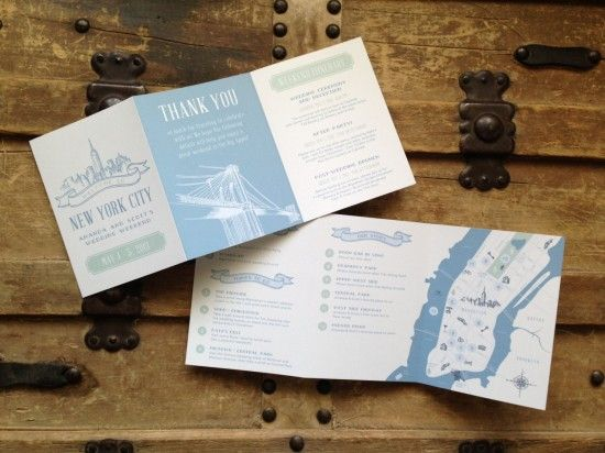 Day-Of Wedding Stationery Inspiration and Ideas: Day-Of Itineraries via Oh So Beautiful Paper (10) (1)