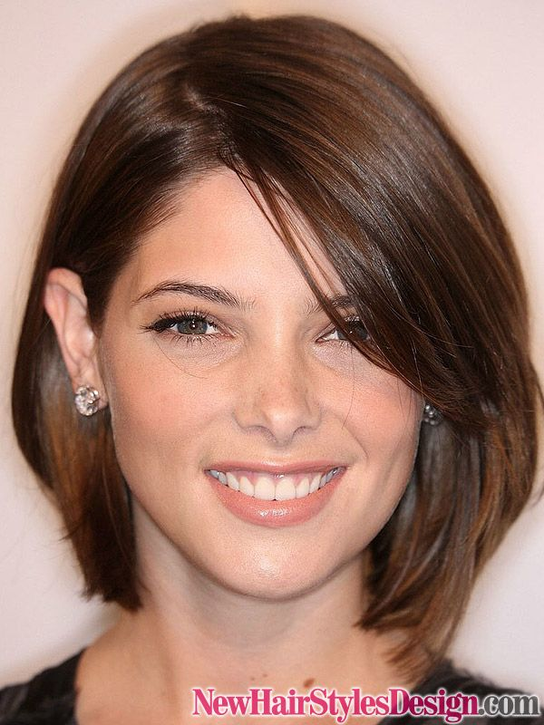 I like the length of the front fringe. Playful but not too short.