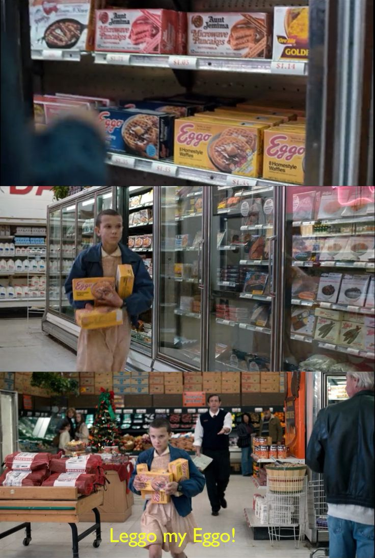 The store manager blew the opportunity of a lifetime. - Stranger Things