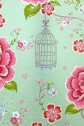 PiP Birds in Paradise Green wallpaper | PiP Studio ©
