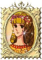 charlotte de polignac tochter von/ yolande de polignac/ charlotte springt aus dem rahm und fallt tod nieder mit einen weise rose im hand