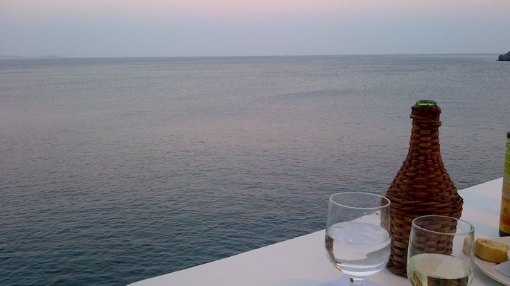 View from the butterfly's wings. #Akti restaurant, #astypalaia island