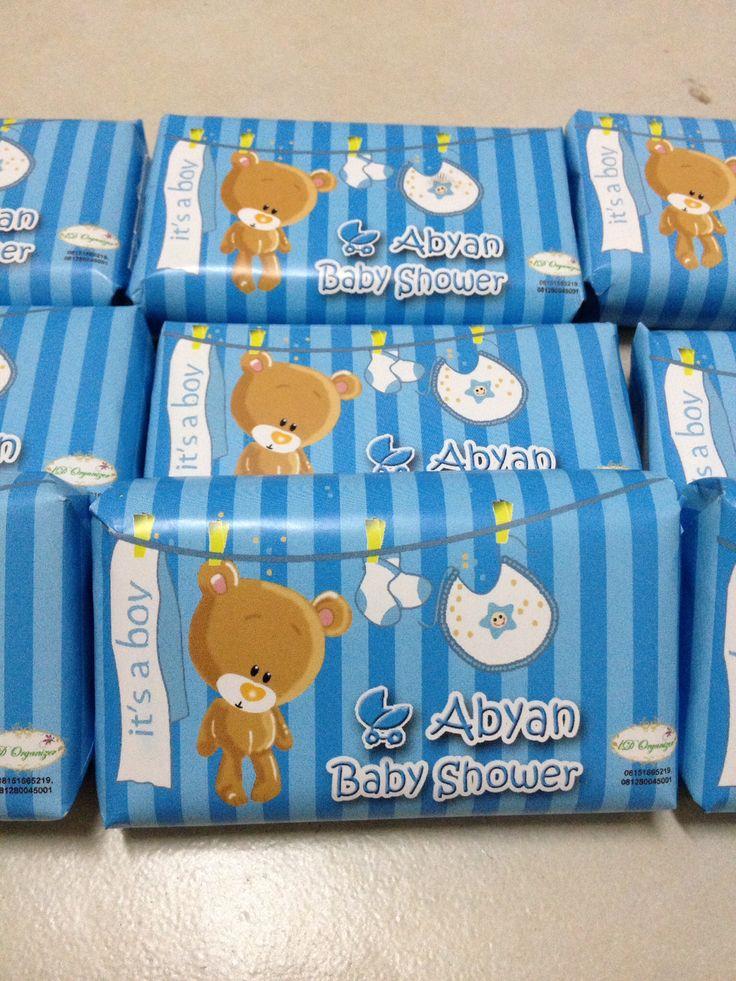 Baby shower souvenir-soap