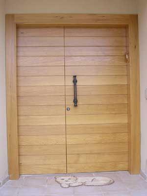 לידור דלתות - דלת כניסה מעץ אלון
