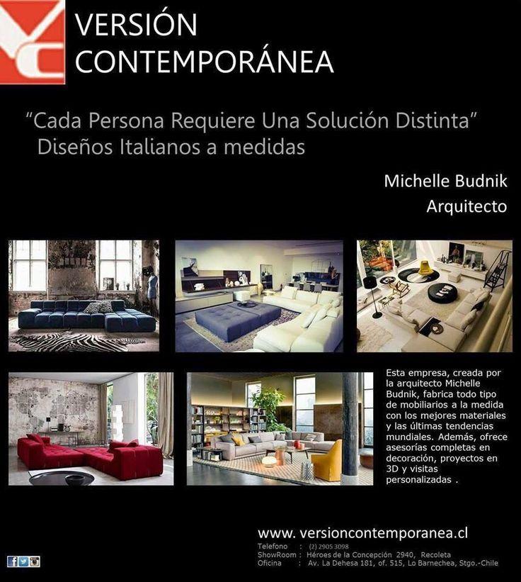 Mobiliario Contemporáneos a medida .  www.versioncontemporanea.cl