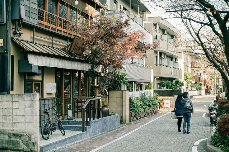 Nakameguro District (中目黒) in Tokyo Japan
