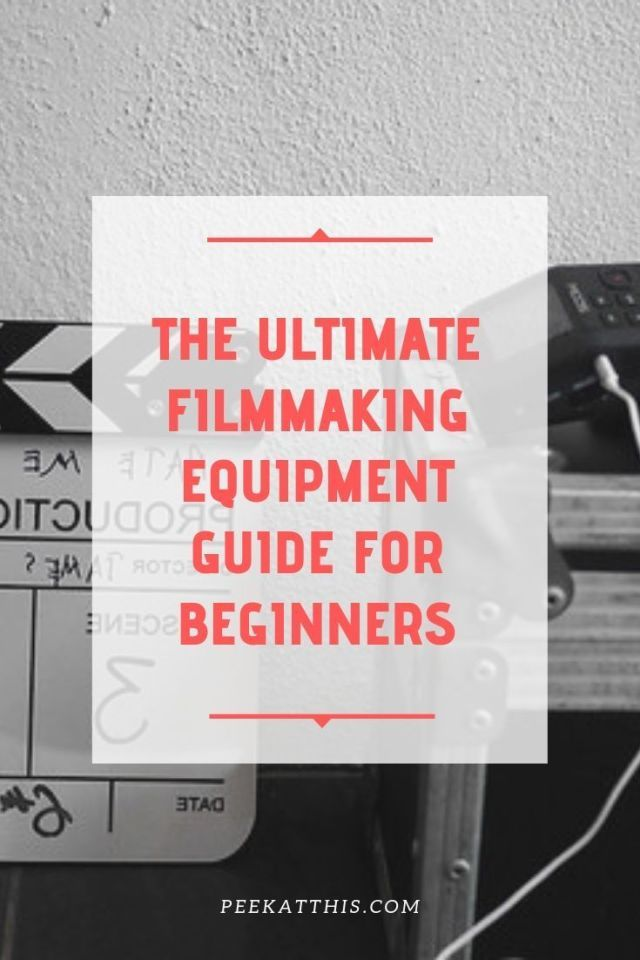 Best Cinematography 2020.Best Filmmaking Equipment List Filmmakers Need 2020