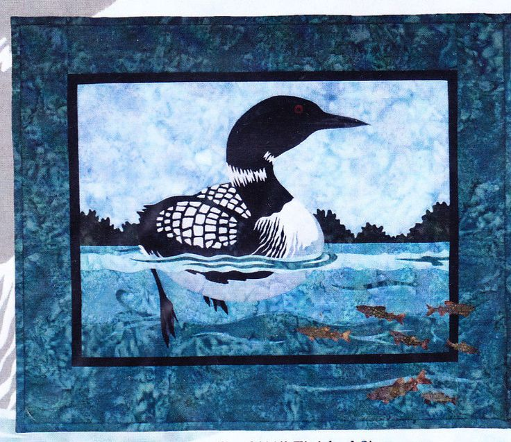 17 Best images about focw quilt on Pinterest | Batik quilts, Wall ... : loon quilt pattern - Adamdwight.com