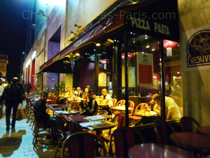 http://www.champselysees-paris.com/Photogallery  Vesuvio Pizza