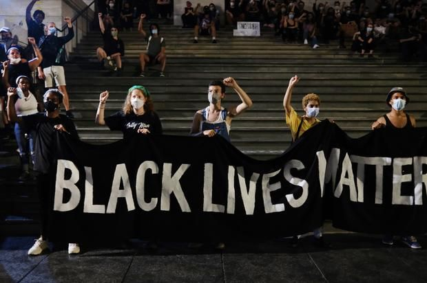 Black Protesters In Nyc Charged With Felonies More Than White Protestors Data Shows Black Lives Matter Protest Nyc Black Lives