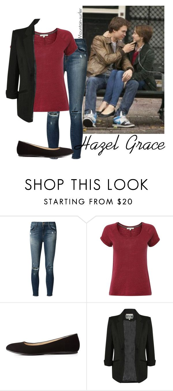 """Hazel Grace Lancaster TFIOS"" by mountain-surfer ❤ liked on Polyvore featuring Grace, J Brand, White Stuff and Charlotte Russe"