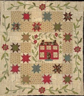 Civil War Quilts: Stars in a Time Warp 28: Early Indigo Prints